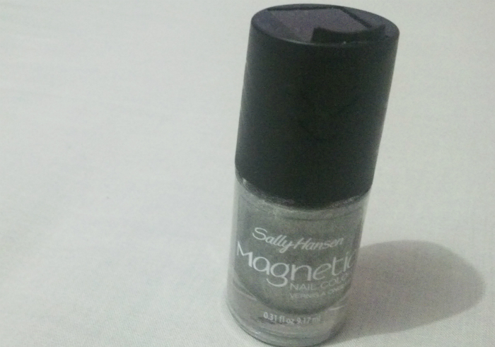 image review Sally Hansen Magnetic Nail Polish Silver Elements