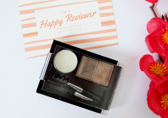 image review Nyx Eyebrow Cake Powder Brunette