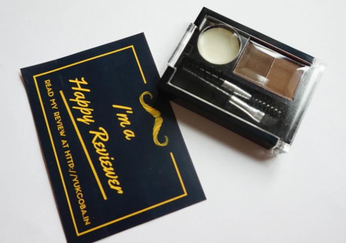gambar review ke-1 untuk Nyx Eyebrow Cake Powder Brunette