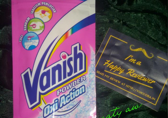 gambar review ke-1 untuk Vanish Powder Oxi Action