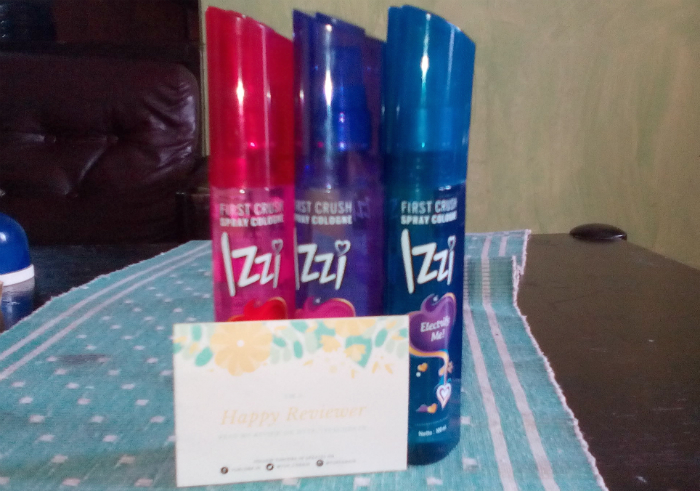 gambar review ke-1 untuk Izzi First Crush Spray Cologne