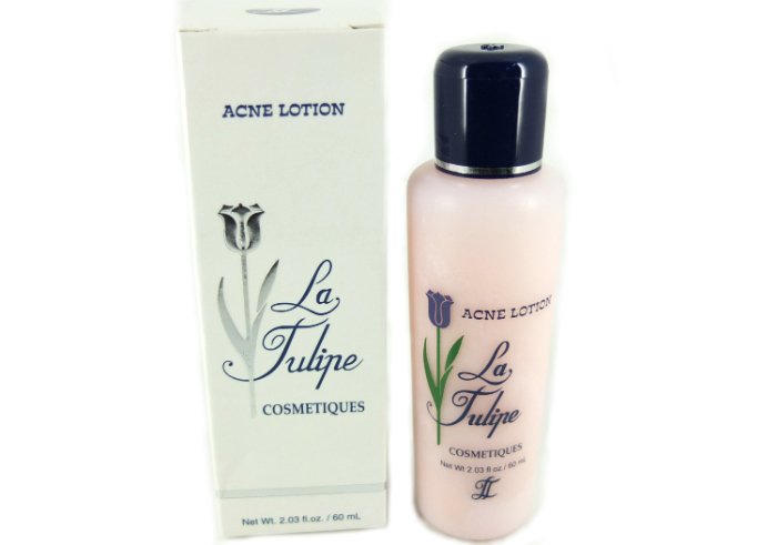 image review La Tulipe Acne Lotion