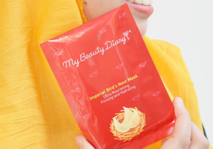 image review My Beauty Diary Imperial Bird's Nest Mask