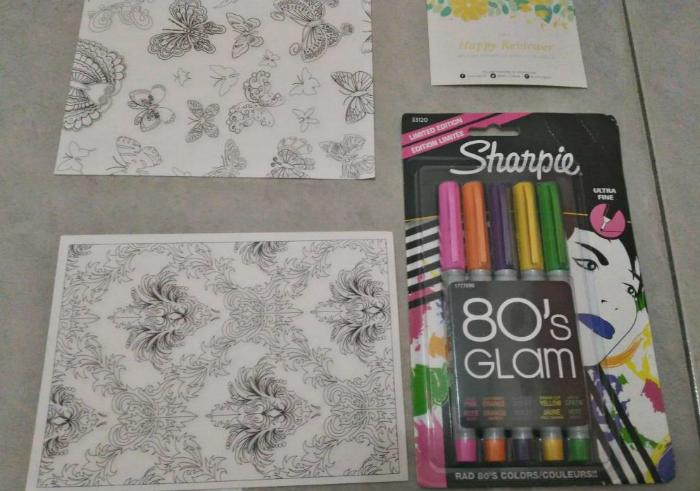 gambar review ke-1 untuk Sharpie Ultra Fine 80's Glam