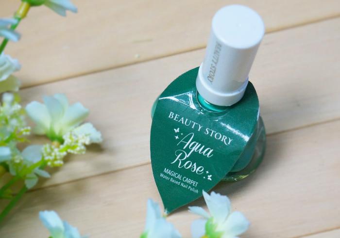 image review Beauty Story Aqua Rose Water Based Nail Polish Magical Carpet
