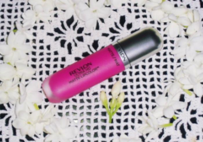 review user Lipstick Revlon Ultra HD Matte Lipcolor Obsession