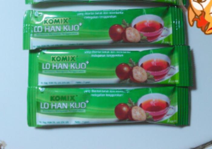 review user Obat Herbal Komix Lo Han Kuo