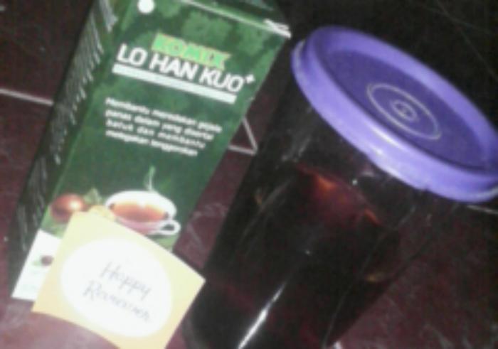 gambar review ke-1 untuk Obat Herbal Komix Lo Han Kuo