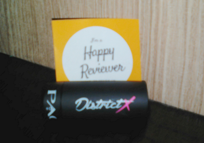 image review Lipstick Matte PAC District-X Lips Black Olive