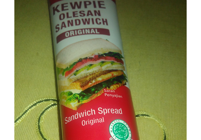 image review KEWPIE Olesan Sandwich Original