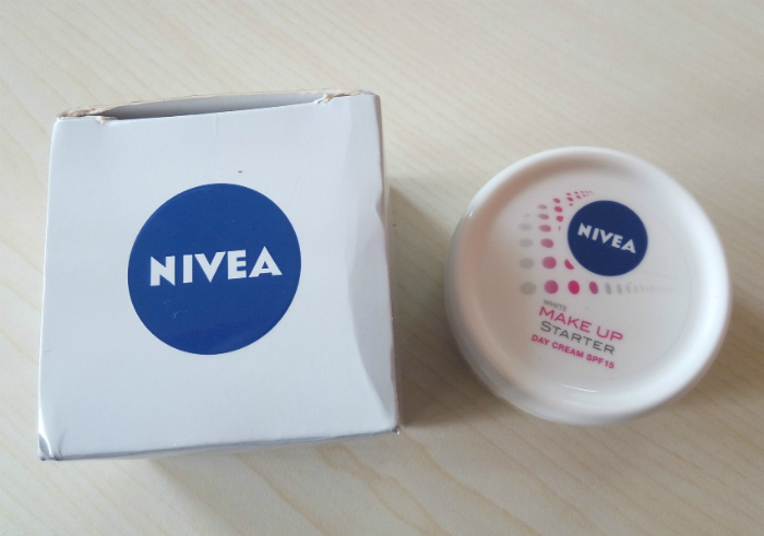 gambar review ke-1 untuk Cream Pelembab Nivea White Make Up Starter Day Cream