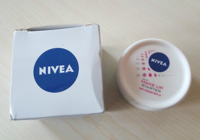 review user Cream Pelembab Nivea White Make Up Starter Day Cream