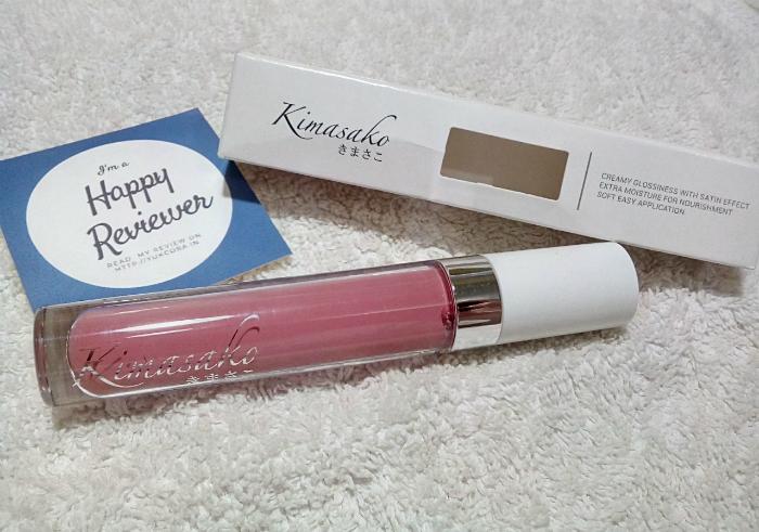 image review Kimasako Glossy Lipcream Shade Sapporo