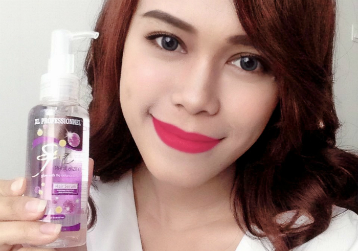 gambar review ke-1 untuk XL Professionnel Spa Revitalizing Hair Serum
