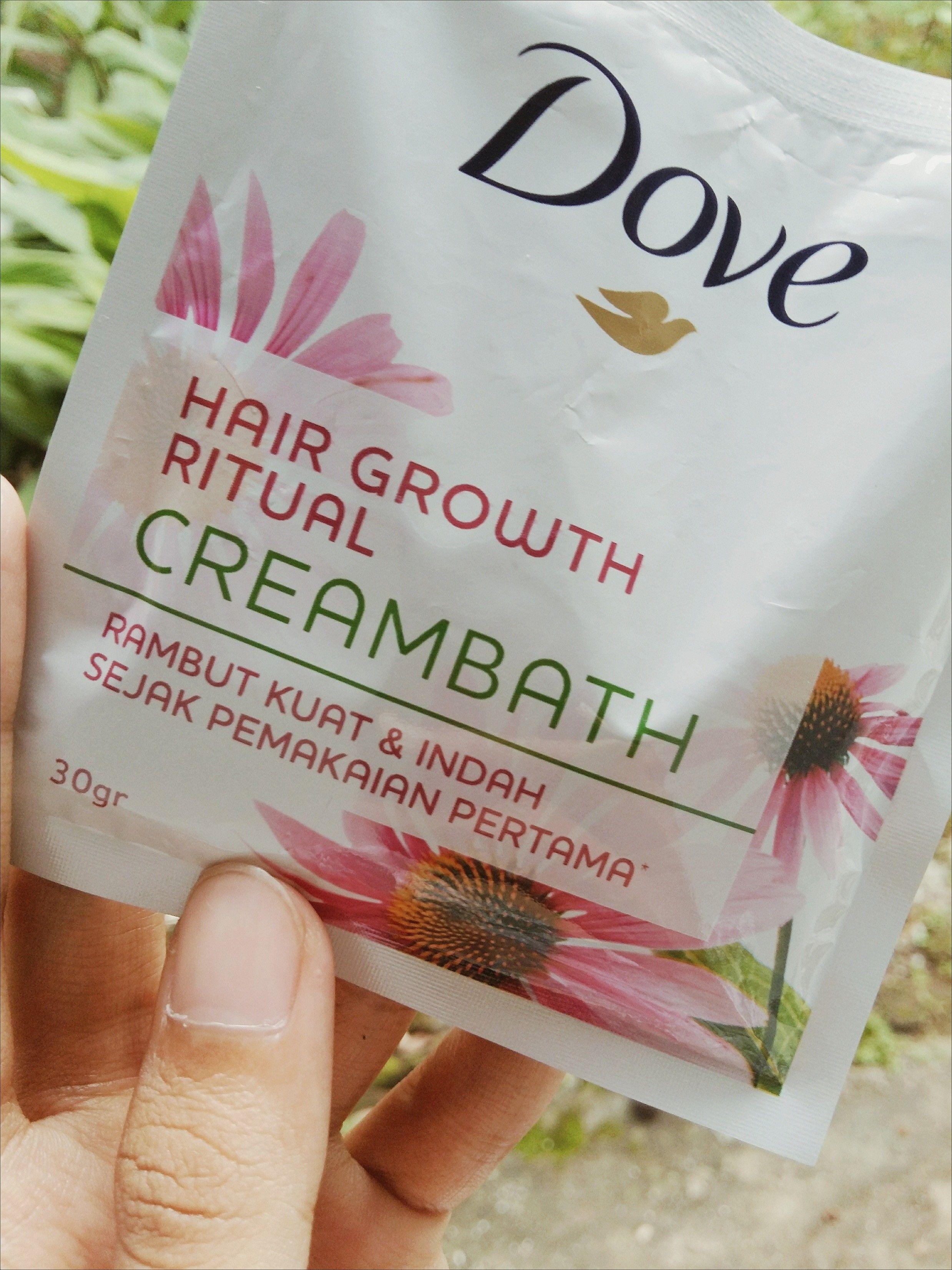 gambar review ke-3 untuk Dove Creambath - Hair Growth Ritual