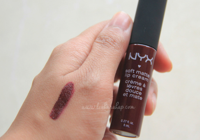 image review NYX Soft Matte Lip Cream Copenhagen