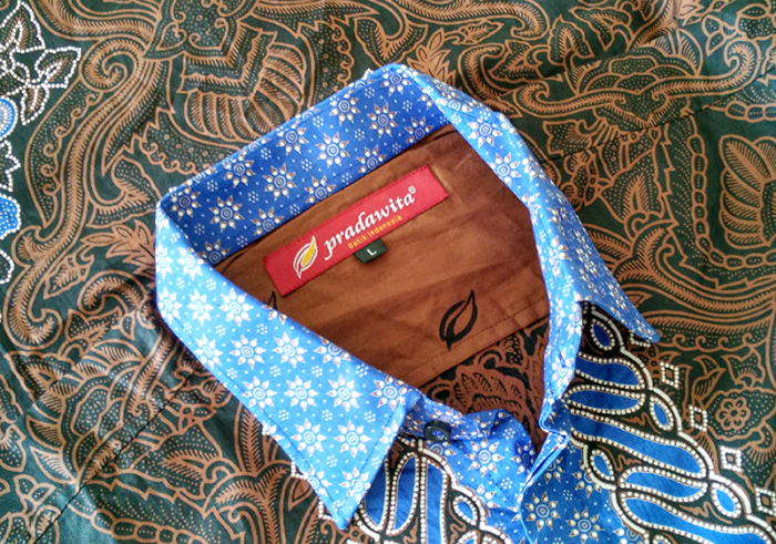 gambar review ke-1 untuk Batik Pria Seri Capoeira dari Pradawita