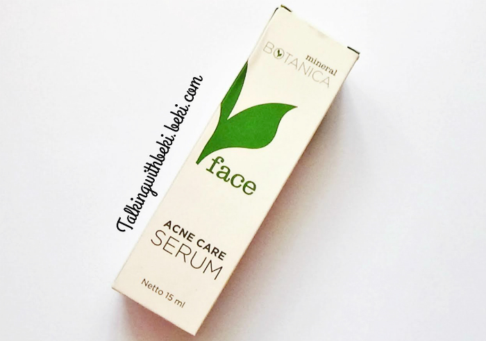 image review Mineral Botanica Acne Care Serum