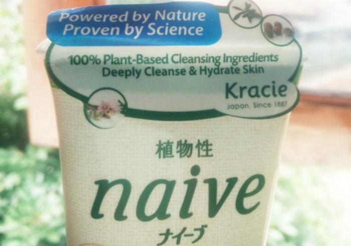 image review Kracie Naive Facial Cleansing Foam Aloe Vera