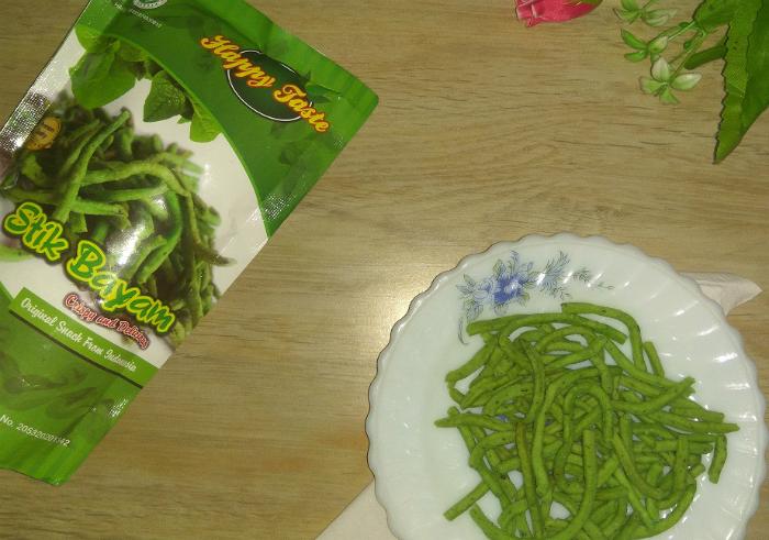 image review Camilan Sehat Happy Taste Stik Bayam