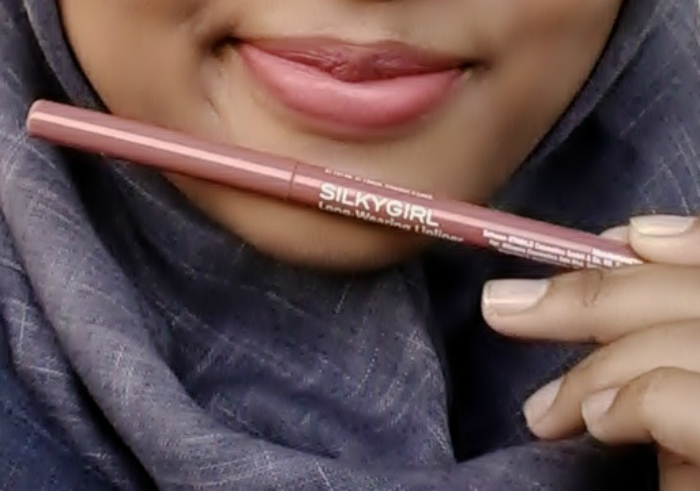 image review Silky Girl Long Wearing Lipliner Nude