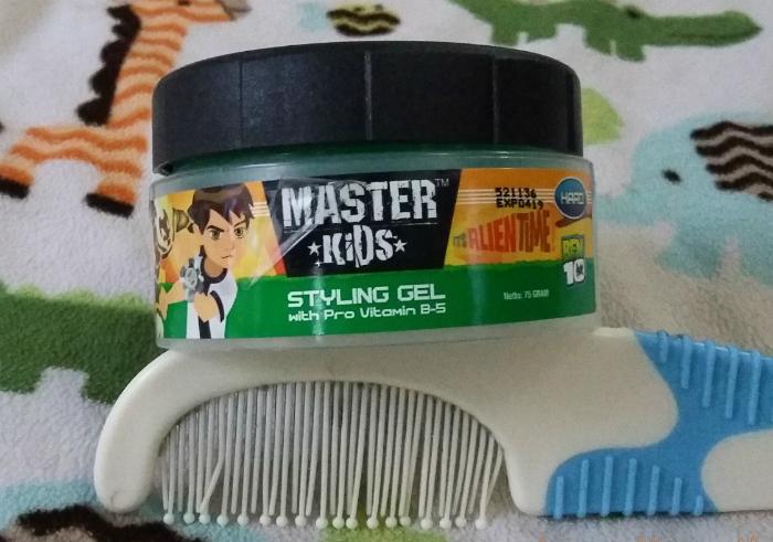 image review Master Kids Styling Gel Ben 10