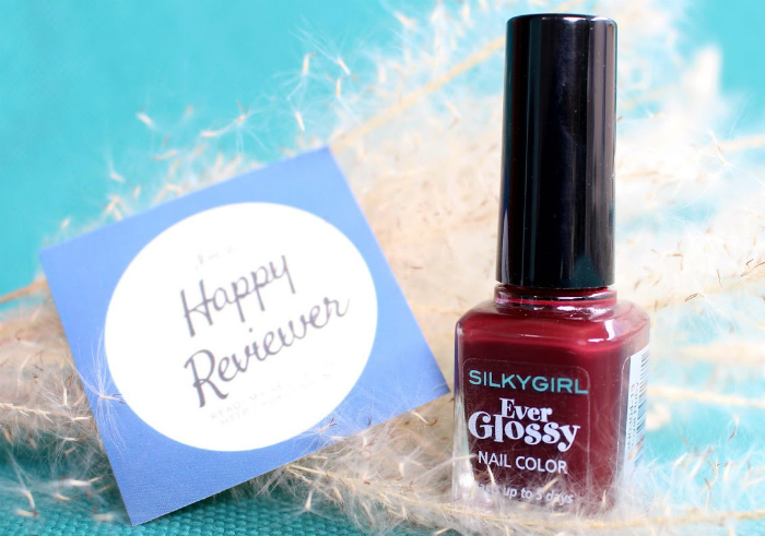 image review Silky Girl Ever Glossy Nail Color Royal Ruby