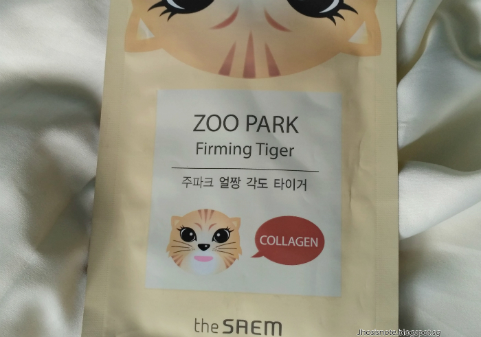 image review Masker Wajah The Saem Zoo Park Firming Tigger