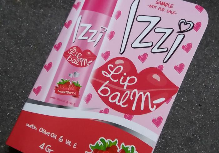 gambar review ke-1 untuk Izzi Lip Balm Sweetberry