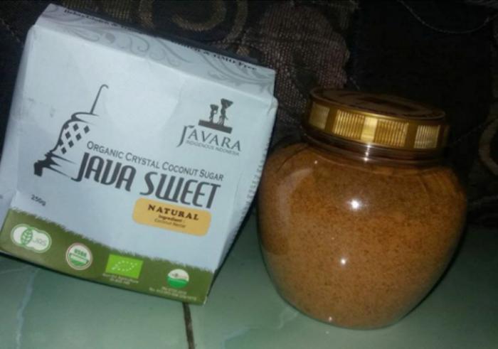 gambar review ke-1 untuk Javara Gula Semut Kristal Organik Natural