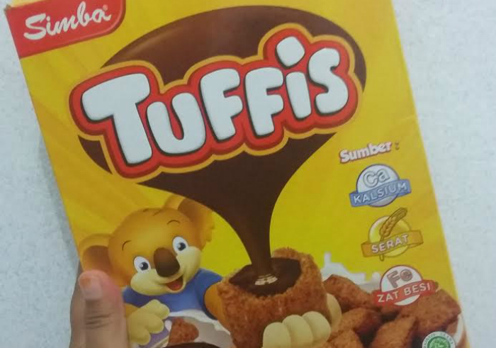 image review Sereal Simba Tuffis Cokelat