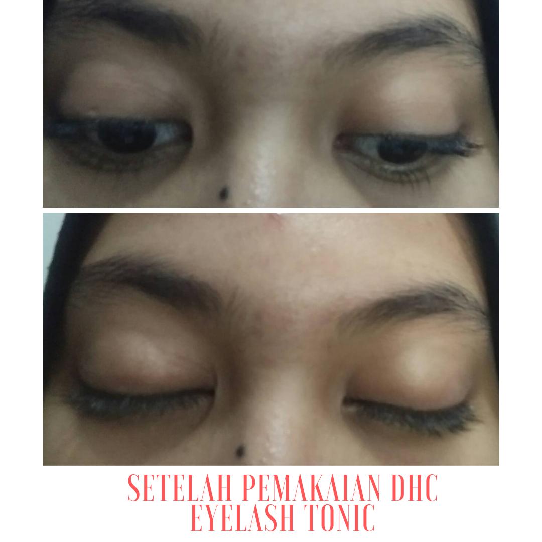 gambar review ke-3 untuk DHC Eyelash Tonic