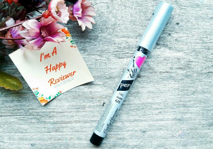 gambar review ke-1 untuk Sally Hansen Nail Art Pen Silver