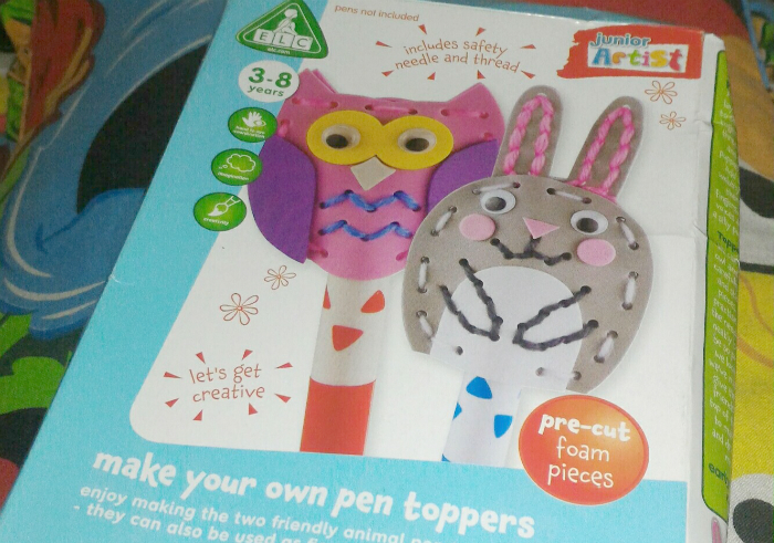 image review ELC Make Your Own Pen Toppers