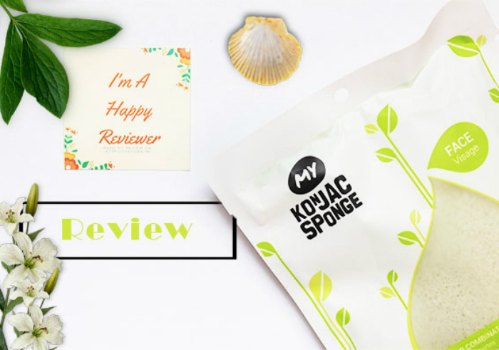 gambar review ke-1 untuk My Konjac Sponge French Green Clay