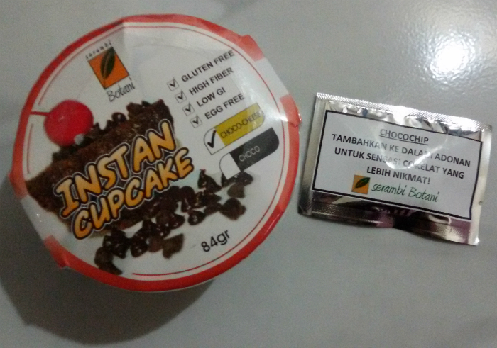 gambar review ke-1 untuk Serambi Botani Instan Cupcake Choco Cheese