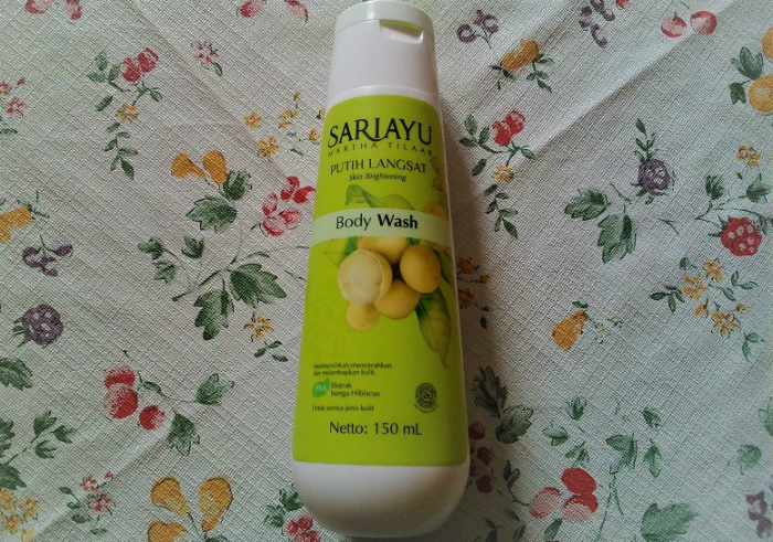 image review Sariayu Putih Langsat Body Wash