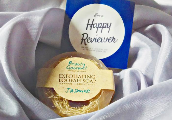 image review Secret Garden Beauty Gourmet Exfoliating Loofah Soap Jasmine