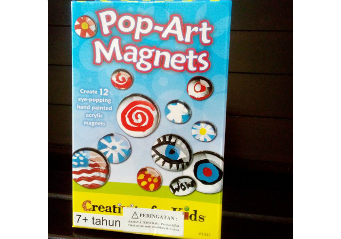 Faber Castel Creativity For Kids Pop-Art Magnets