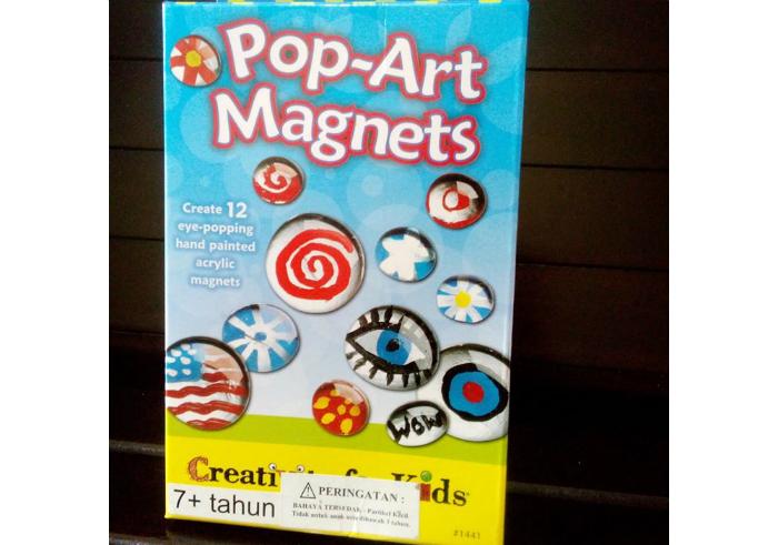 Faber Castel Creativity For Kids Pop-Art Magnets