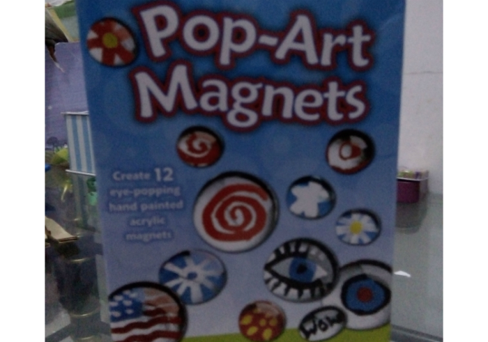 image review Faber Castel Creativity For Kids Pop-Art Magnets