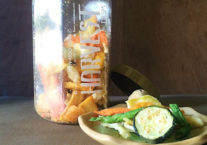 image review Harvest Crisps Mix Sayur Mayur