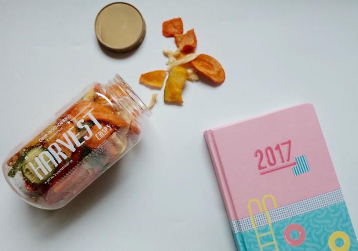 gambar review ke-1 untuk Harvest Crisps Mix Sayur Mayur