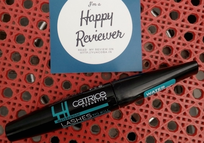 gambar review ke-1 untuk Catrice Lashes To Kill Volume Mascara Waterproof