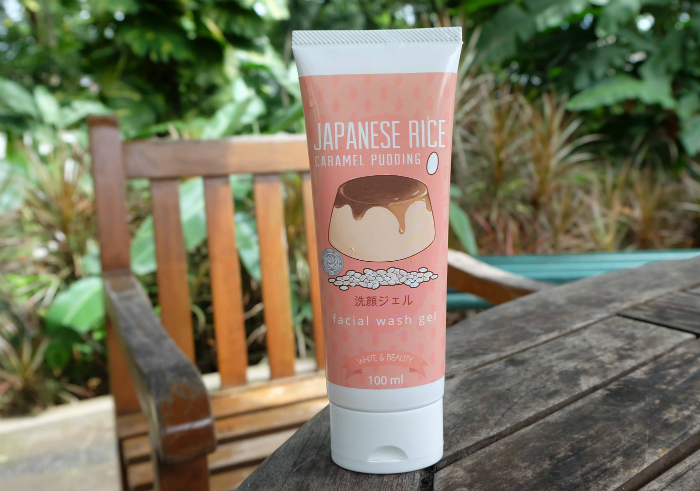 image review Beaute Recipe Japanese Rice Facial Wash Gel