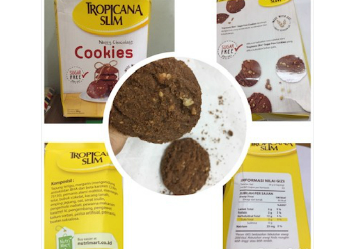 image review Tropicana Slim Nutty Chocolate Cookies
