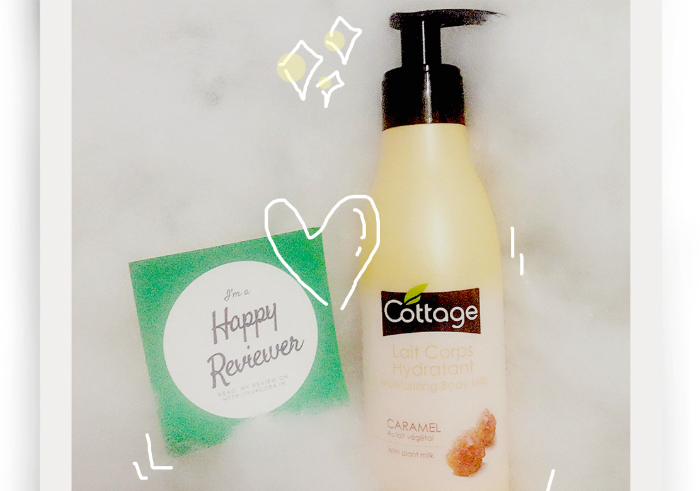 image review Cottage Lait Corps Hydratant Moisturizing Body Milk Caramel