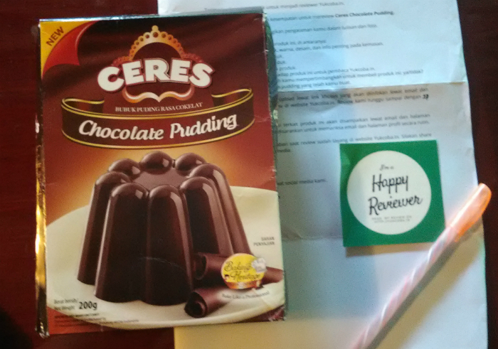 image review Ceres Chocolate Pudding