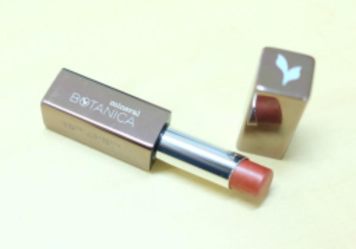 gambar review ke-1 untuk Mineral Botanica Studio Series Lustrous Silky Lipstick Vogue