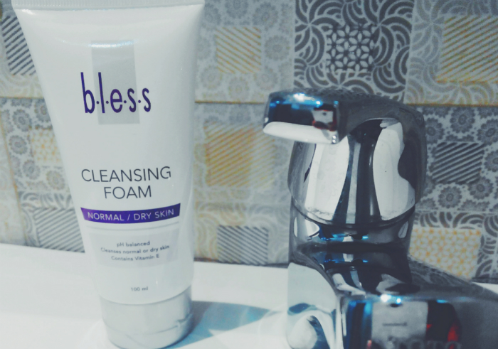 image review Bless Cleansing Foam